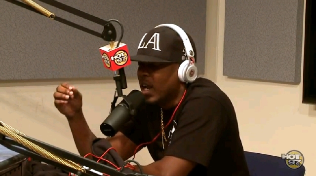 Kendrick Lamar Hot 97